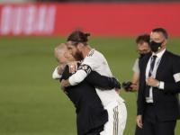 زيدان يشيد براموس ويعلق على ركلة جزاء ريال مدريد في الكلاسيكو