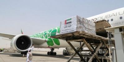 بـ67 ألف طن.. الإمارات تُرسل شحنة قمح إلى السودان