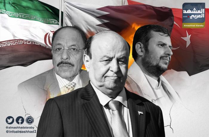 الشرعية تبحث عن ثغرة لتسهيل وصول الحوثي إلى الجنوب
