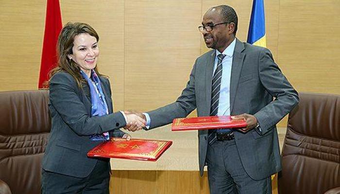 المغرب والتشاد توقعان ست اتفاقيات للتعاون في عدة مجالات