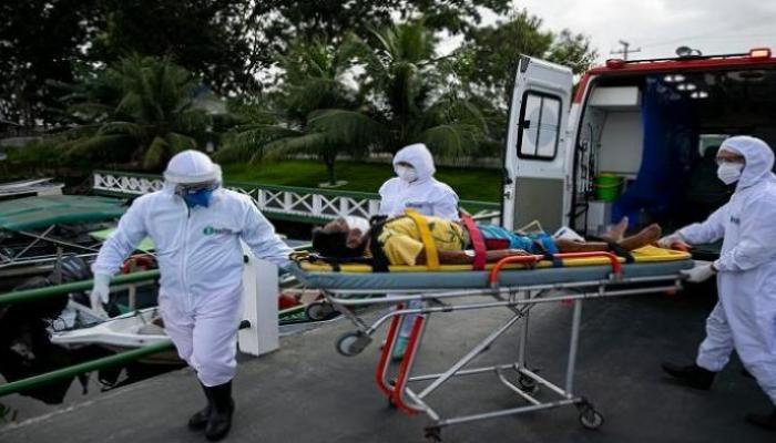 البرازيل تسجل 15726 إصابة جديدة بكورونا