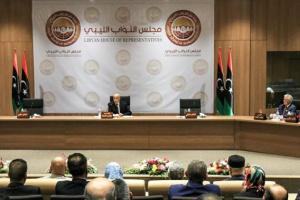 النواب الليبي يستنكر موقف مجلس الدولة الرافض لاتفاق وقف إطلاق النار