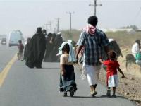 """""""النزوح الداخلي"""".. جحيم الحوثي الذي يهرب منه السكان"""