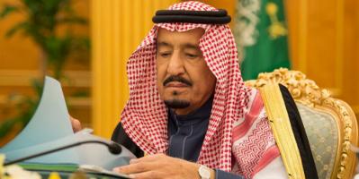 العاهل السعودي يتلقى رسالة خطية من أمير الكويت