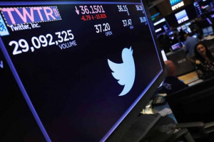 """مخالفا التوقعات.. نتائج الأعمال الفصلية تهبط بسهم """"تويتر"""" إلى 42.65 دولار"""