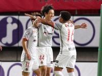 ناجويا جرامبوس يرتقي لوصافة الدوري الياباني بالفوز على كاشيما أنتلرز