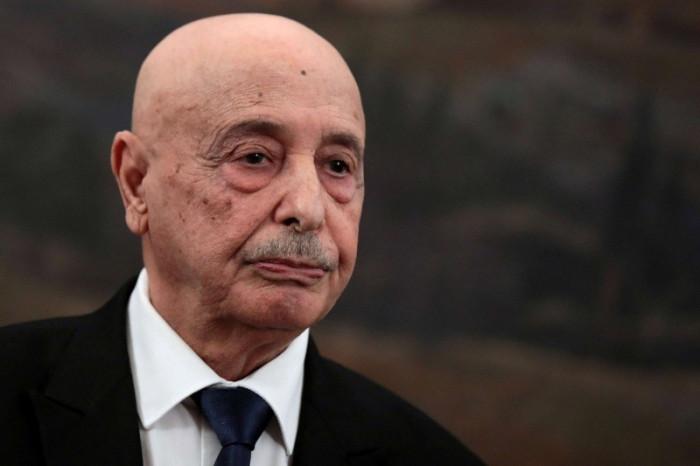 رئيس البرلمان الليبي يصل القاهرة لبدء المحادثات الثنائية