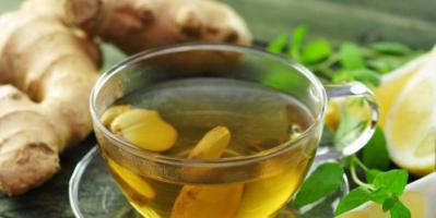فوائد تناول الشاي الأخضر بالزنجبيل