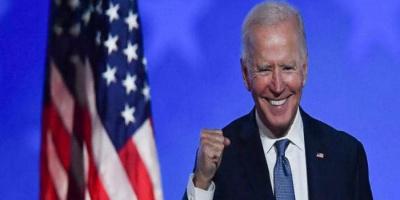 """الرئيس الـ 46 لأمريكا.. تويتر يحتفي بإعلان فوز """"بايدن"""""""