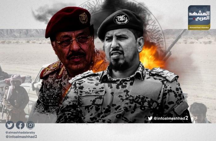 الشرعية تخلت عن جثث قياداتها وتروج لنصر مزيف بأبين