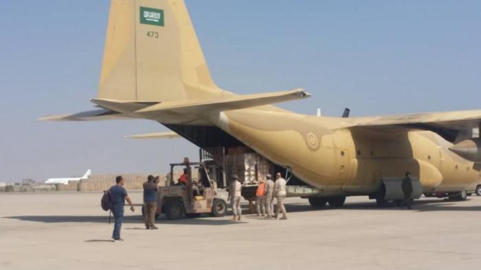 وصلت لمطار العاصمة.. شحنة أدوية سعودية لمستشفيات عدن