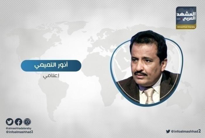 """""""التميمي"""" يفضح تغريدة اليدومي لبدء هجوم الإخوان على القوات الجنوبية في أبين"""