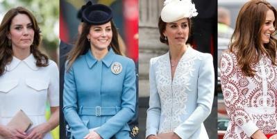 """منصة الموضة تمنح دوقة كامبريدج لقب """"أيقونة الأزياء الملكية"""" في العالم"""