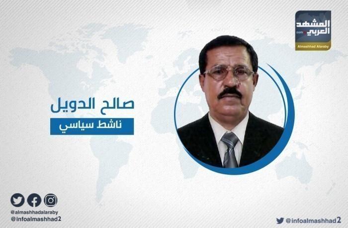 """""""الدويل"""": فوضنا الرئيس الزُبيدي ليقود أخطر جبهة على الإخوانج ومليشياتهم"""