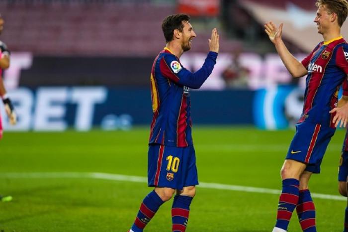 ميسي يقود هجوم برشلونة أمام أتلتيكو مدريد