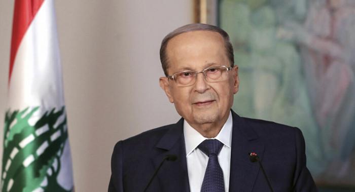 عون: لبنان أسير للفساد والتآمر السياسي والتدخلات الخارجية
