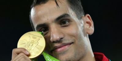 إطلاق سراح البطل الأولمبي أبو غوش بعد إيقاف تنفيذ الحكم بسجنه