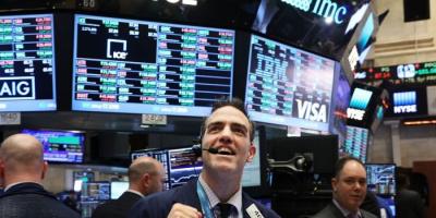 ارتفاع الأسهم الأمريكية.. وداو جونز يصعد 1.1%