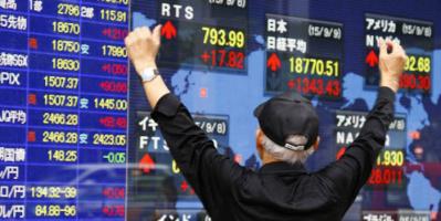 بورصة اليابان تغلق تداولاتها على مكاسب قياسية