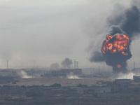 """تركيا تقصف منطقة """"تل أبيض"""" السورية بالأسلحة الثقيلة"""