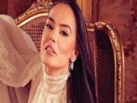 شريهان توجه رسالة شكر لقرينة الرئيس المصري السيدة انتصار السيسي