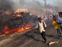 مقتل 7 أشخاص وإصابة آخرين في تفجير انتحاري قرب مطار مقديشو