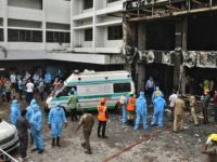 مصرع 5 مصابين بـ كورونا في حريق مستشفى بالهند