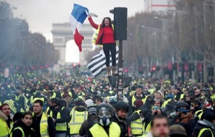 احتجاجات في فرنسا رفضًا لقانون الأمن الشامل