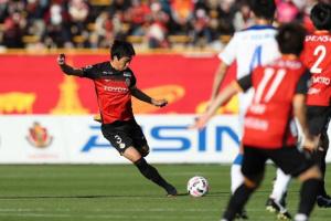 ناجويا جرامبوس يهدر نقطتين أمام أويتا ترينيتا في الدوري الياباني