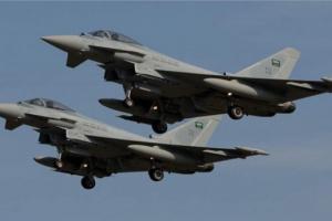 التحالف يقصف دفاعات جوية في محيط صنعاء