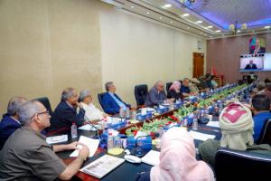 الرئيس الزُبيدي: المجتمع الدولي على دراية بمعرقلي اتفاق الرياض