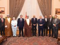 رئيس البرلمان العربي يلتقي رئيس مجلس النواب المصري