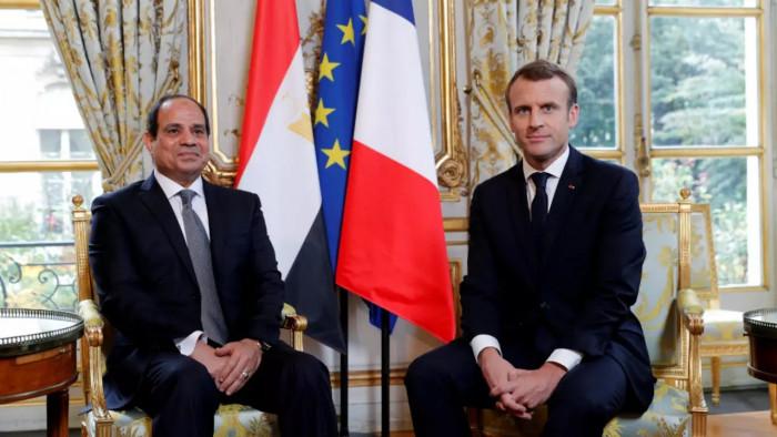 فرنسا: ماكرون والسيسي يلتقيان في الإليزيه الاثنين المقبل