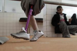 """""""أونمها"""": الصراع يفرض تحديات إضافية على ذوي الإعاقة"""