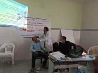 تدريب القائمين على التحصين ضد شلل الأطفال بيافع