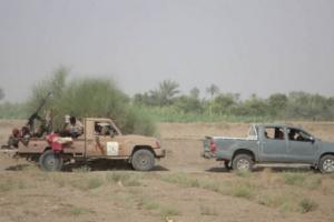 """اندلاع مواجهات بين """"المشتركة"""" والحوثيين شرق الحديدة"""