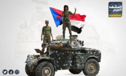 القوات الجنوبية تتصدى لأعنف هجوم للمليشيات الشرعية بأبين