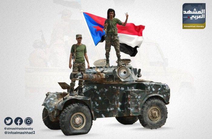 القوات الجنوبية تتصدى لأعنف هجوم لمليشيات الشرعية بأبين