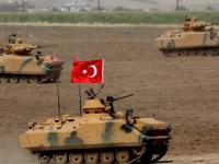 قوات الغزو التركي تعزز تواجدها في جبل الزاوية شمالي سوريا 