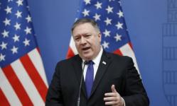 بومبيو: إيران تهدف إلى تهديد المجتمع الدولي بزيادة تخصيب اليورانيوم