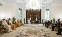 السيسي يرحب انضمام الإمارات لمنتدى غاز شرق المتوسط