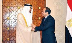 اتفاق إماراتي مصري على مواصلة التصدي لتهديدات أمن واستقرار المنطقة