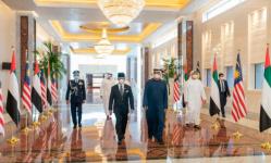 بن زايد يبحث مع ملك ماليزيا العلاقات المشتركة في أبوظبي