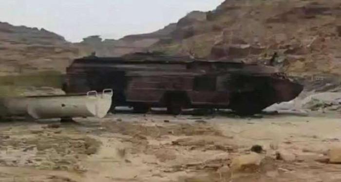 التحالف يقصف منصتي صواريخ في صنعاء