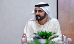 الشيخ محمد بن راشد يتسلم رسالة لرئيس الدولة من أمير الكويت