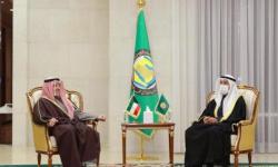 أمين عام مجلس التعاون الخليجي يستقبل وزير الخارجية الكويتي