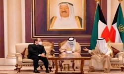 أمير الكويت يبعث رسالة خطية للرئيس المصري