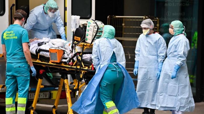بلجيكا تسجل 880 إصابة جديدة بكورونا و63 وفاة