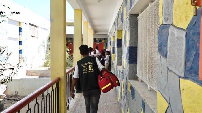 توسع خدمات الدعم التغذوي في 62 مدرسة بعدن