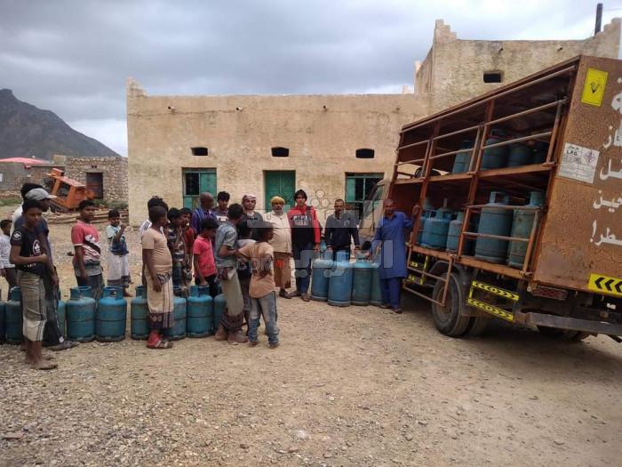 خليفة الإنسانية تُؤمن الغاز لمناطق جديدة بحديبو